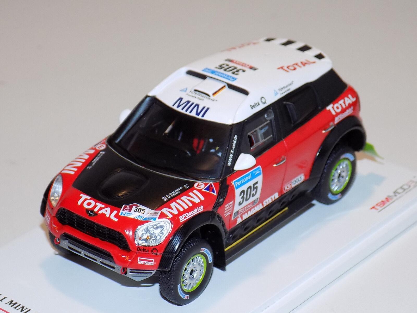 1/43 True Scale Models TSM Mini Coche 305 Dakar Race 2018 TSM114351