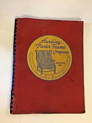 Vtg 1940 S Harding Parlor Frame Company, Grand Rapids Furniture