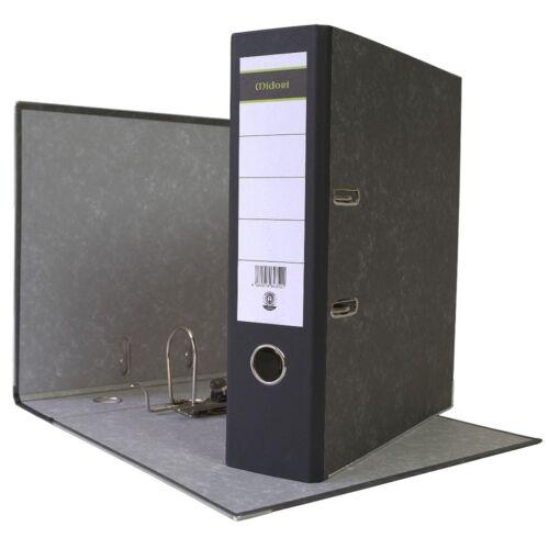 Ordner DIN A4 PP Kunststoff oder Papier Aktenordner Briefordner 8 oder 5 cm