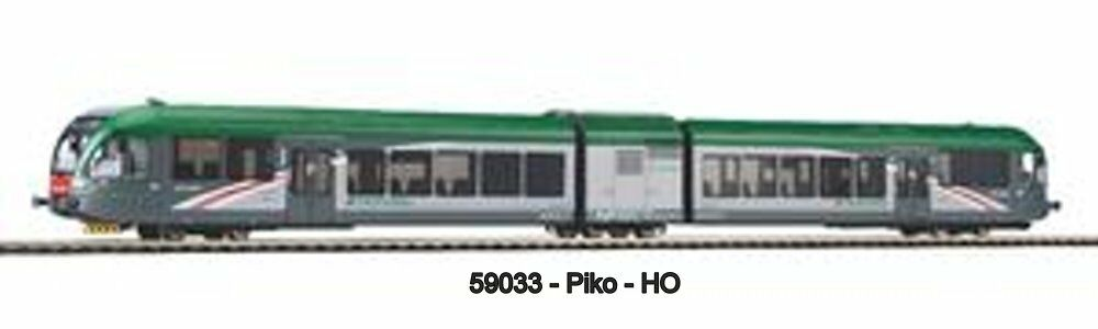 Piko 59033 - Unidad de Tren Diésel Gtw 2 6   Stadler  - Atr 115.003 Trenord - Ac