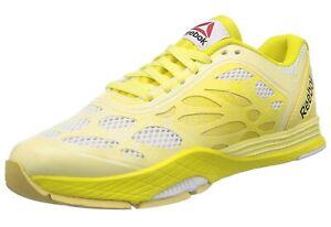 reebok trainers yellow