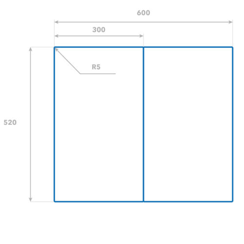 Herd-Abdeckplatte Glas Ceranfeld-Abdeckung Deko Golden Gate Brücke 2x30x52 cm