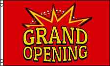Red Amp Yellow Grand Opening Advertising Flag 3x5 Ft Banner Business Sign Open