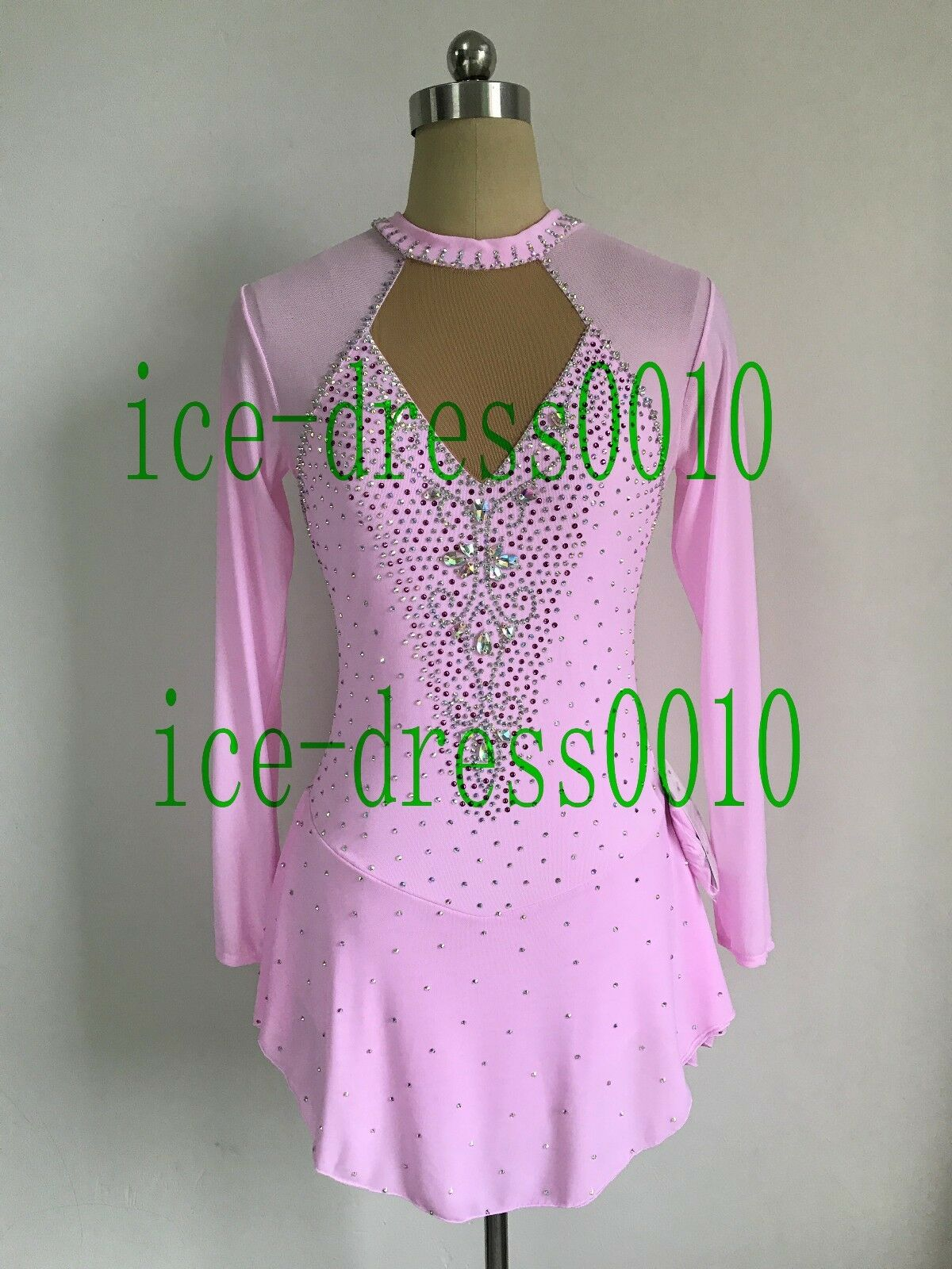 2018 new style Figure Skating Ice Skating Dress Gymnastics Costume 127-12