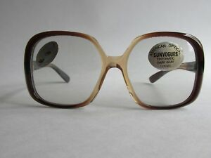 3a985a43c2 Image is loading American-Optical-TAOS-SunVogues-TM182T-HF-Vintage-Two-