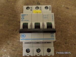GE Series G B16 3polig Sicherungsautomat Leitungsschutzschalter Hutschiene 16Amp - <span itemprop=availableAtOrFrom>Halberstadt, Deutschland</span> - GE Series G B16 3polig Sicherungsautomat Leitungsschutzschalter Hutschiene 16Amp - Halberstadt, Deutschland