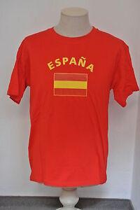 Spanien-Spain-Unisex-Fun-T-Shirt-Fasching-Mallorca-Funshirt-Fussball-WM-EM-Shirt