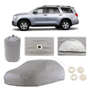 Fits-Toyota-Sequoia-5-Layer-Car-Cover-Fitted-Outdoor-Water-Proof-Rain-Snow-Sun