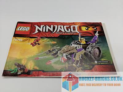 GRADE A  INSTRUCTION MANUAL ONLY  LEGO 70745 NINJAGO ...