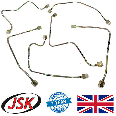 Fuel Injector Supply Tube Pipes Set 6pc for Leyland 370 400 /& 401 Engines