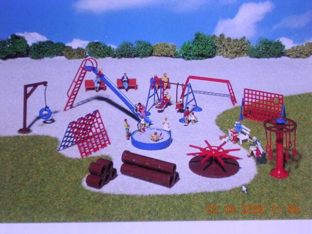 Kletterbogen Kunststoff : H0 busch spielplatz kletter set kletterturm kletterpilz kletterbogen