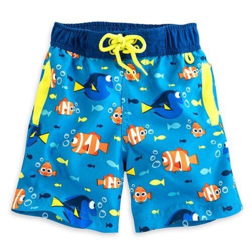 Disney Store Finding Dory Rash Guard /& Swim Trunks Set Boy Size 4 5//6