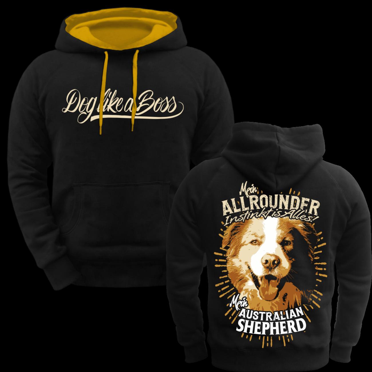 Kapuzenpullover Hoodie Australian Shepherd Dogs Dogs Dogs Rasse Hütehunde Begleithunde  | Ausgezeichneter Wert  | Verschiedene Stile  | Verschiedene Stile und Stile  bb321b