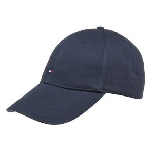 717ad5944d6 Image is loading New-Mens-Tommy-Hilfiger-Blue-Classic-Cotton-Cap-