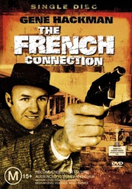 THE FRENCH CONNECTION DVD Gene Hackman Academy Award Winning Brand New, Region 4