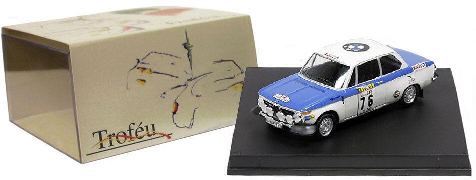 Trofeu 1702 BMW 2002 Ti Winner TAP Rally Portugal 1972 - A Warmbold 1 43 Scale