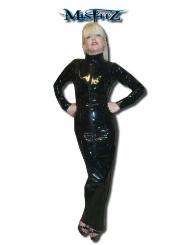 2 Tv made Misfitz Taille Pvc Cd 32 Hobble To Dress Zip Goth Measure 8 Way Mistress qwIOwvCU