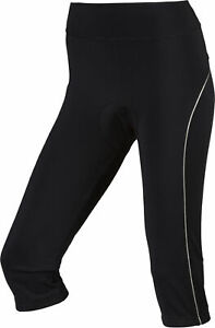 Nakamura Damen-rad-fahrradhose-bike-hose Caprihose 3/4 Tight Nala Ii Schwarz Tights & Pants