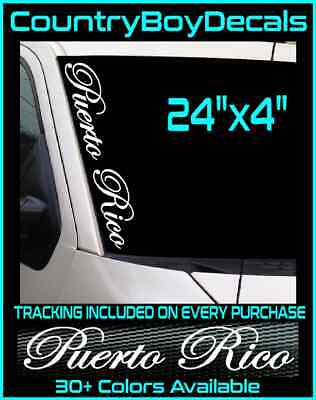 "OL/' RED Vinyl Decal 22/"" Windshield Sticker JDM Car Diesel Truck Lifted Turbo Mud"