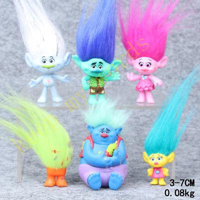 Movie Character Moana Trolls Poppy Figure Stuffed Cute Plush Doll Toys Gift Kids