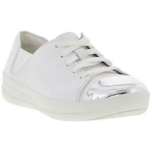 a4d4618d719f5 Caricamento dell immagine in corso FITFLOP-F-sportivo-specchio-Toe-Sneaker -Donna-Scarpe-