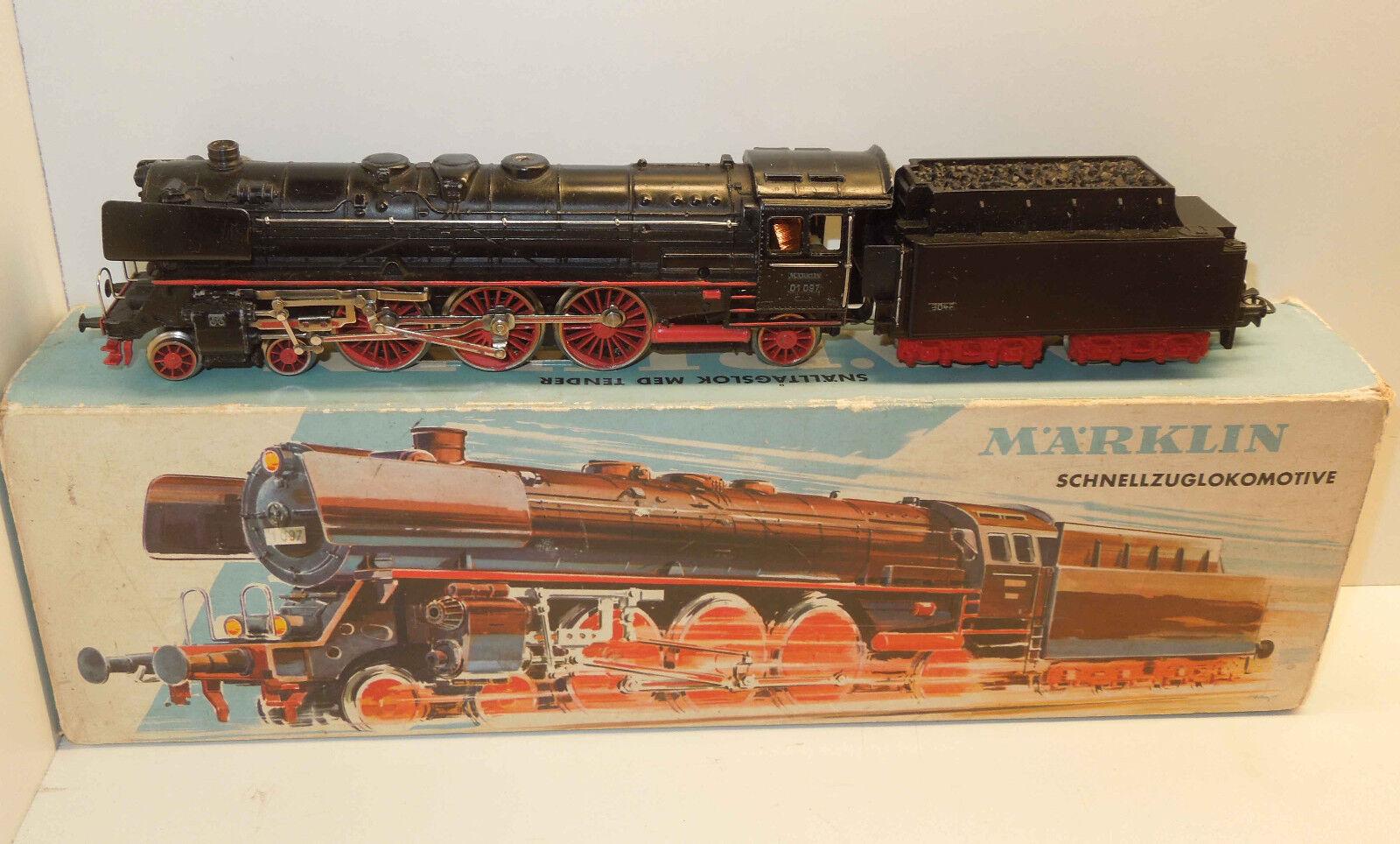 h0 3048 locomotiva BR 01 097 DELLE DB IN SCATOLA di immagini  2