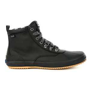 Keds Women's Scout BT 2 Twill Black Lace Up Waterproof Boots WF60607 NEW!