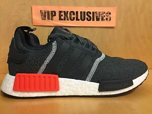 ec5be42ae341 Details about Adidas NMD R1 Runner Charcoal Grey Orange 3M Mesh Nomad S31510