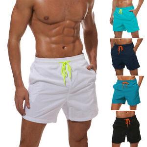 Mens-Swimwear-Swimsuits-Surf-Board-Beach-Wear-Swim-Trunks-Shorts-Quick-Dry-V03