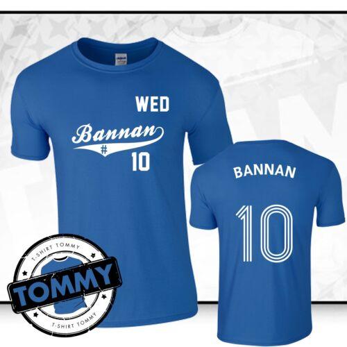 Bannan#10 Sheffield Wednesday T-Shirt WAWAW Barry Bannan Fan T-Shirt