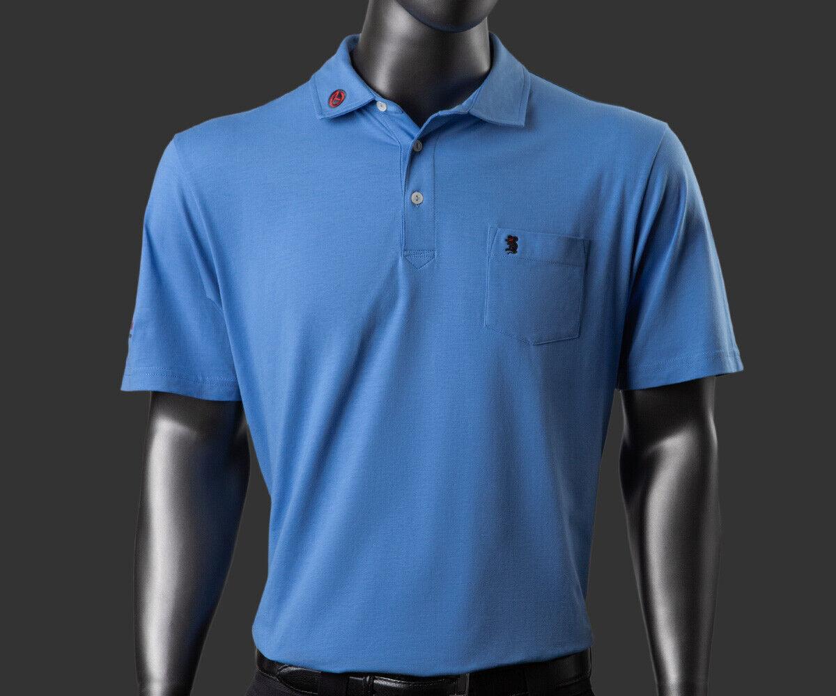 Scotty Cameron Polo Camisa-Tour Rat-Lavado Playa-Azul Cascada - 12L