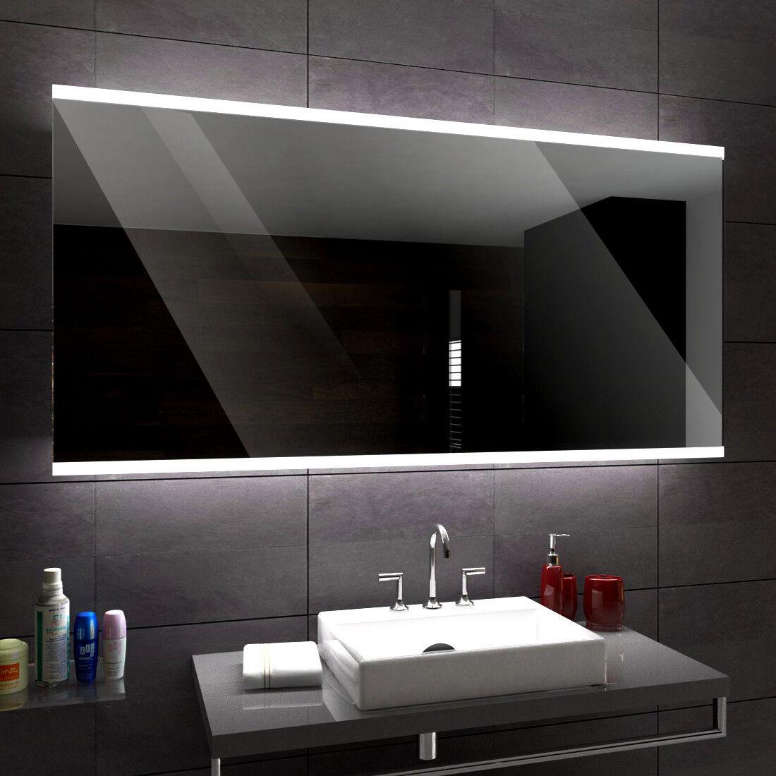BRASIL éclairé del Miroir salle de Bain Led personnalisé taille versions