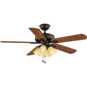 Lyndhurst 52 In Oil Rubbed Bronze Ceiling Fan Replacement