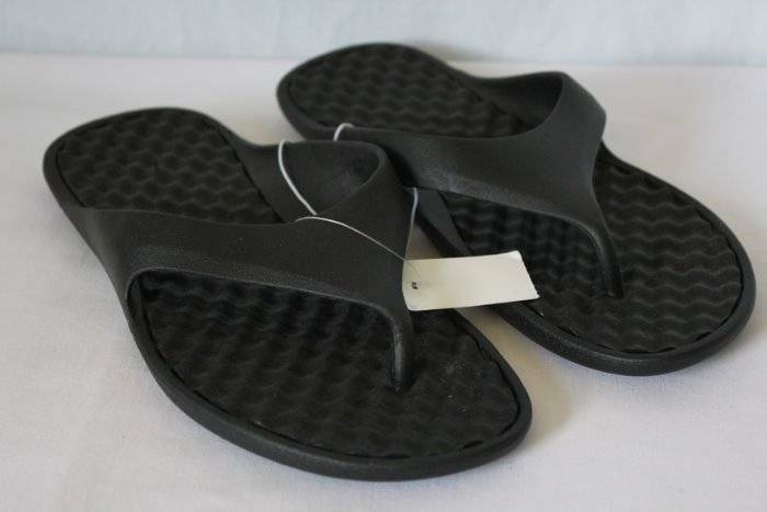 b4906365a16c ... NEW Mens Flip Flops Size Size Size Small Black Sandals Summer Shoes  Pool Beach e701f7 ...