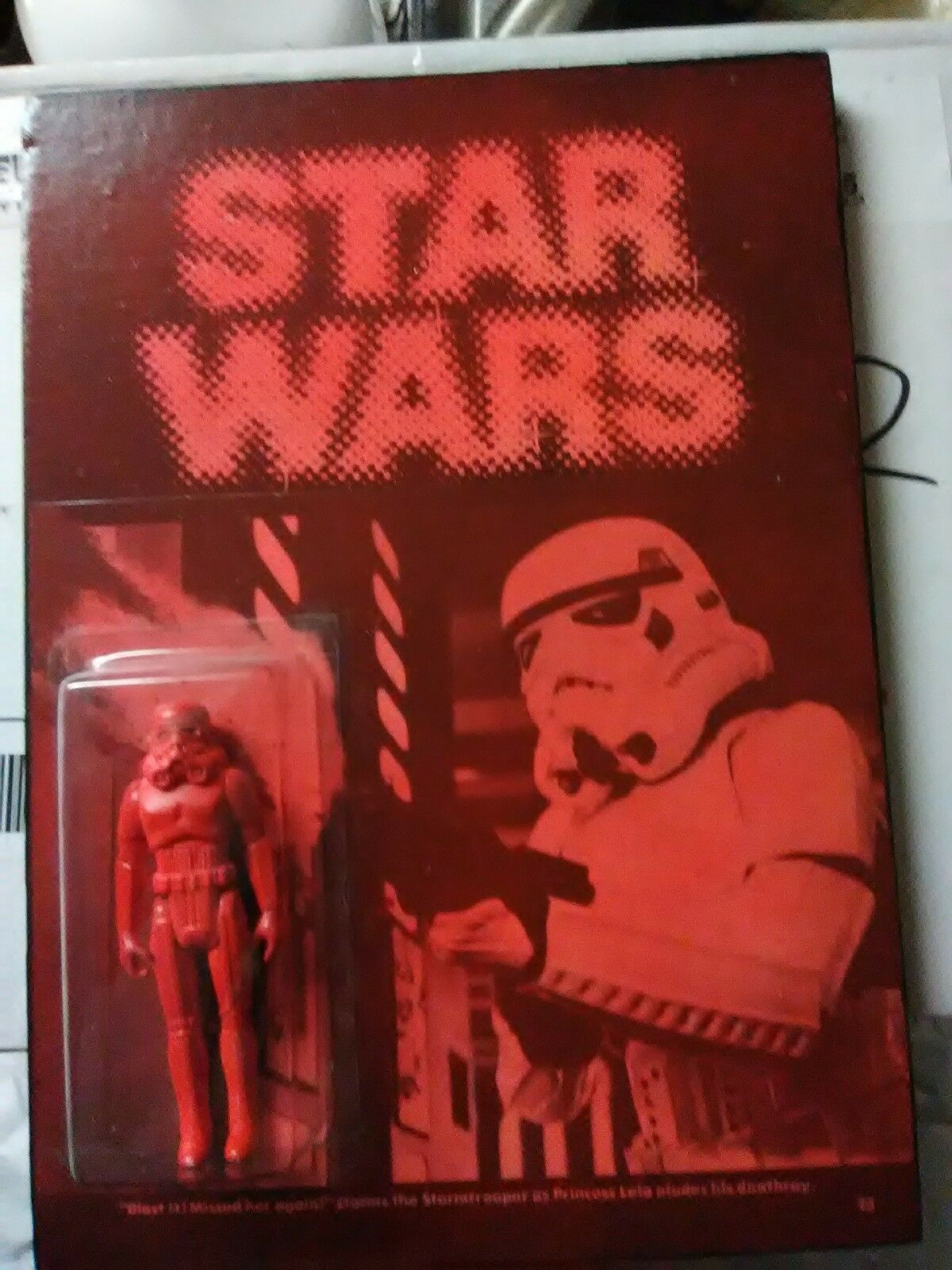 STAR WARS SUCKLORD RED STORMTROOPER KILLER SUCKADELIC PANEL BOOTLEG ONE OFF  L66