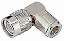 2 X TNC male plug to FME male plug right angle adapter