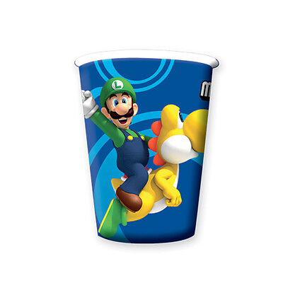 Super Mario Bros Nintendo Wii Brothers Complete Party Tableware Decorations Kits