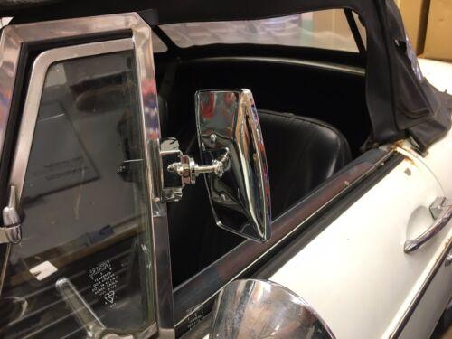 Rectangular Clip en 1//4 Luz Adelantamiento Espejo Clásico Ford-Anglia etc