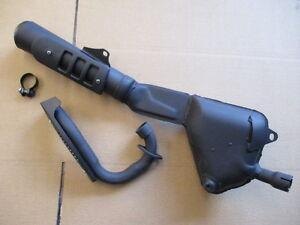 Collecteur-et-silencieux-d-039-echappement-NEUFS-pour-Honda-125-XLS-XR
