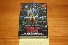 Ghouls 'N Ghosts (Sega Genesis) NEW SEALED NEAR-MINT, SUPER RARE, CLASSIC!
