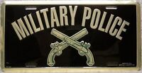 Aluminum Military License Plate U S Armed Forces Military Police NEW