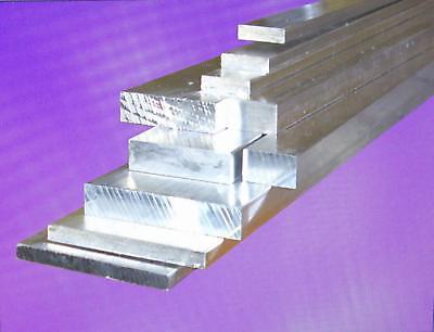 L/änge 500 mm Abmessungen 100 x 4 mm gezogen Aluminium Flachmaterial Oberfl/äche blank