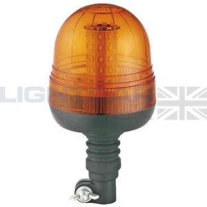 12V 24V Emergenza LED Ambra Rotante Lampeggiante Flessibile Camion Trattore