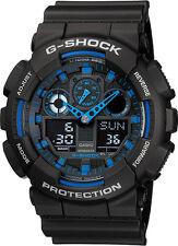 Casio G-Shock GA-100-1A2 Black Original Mens Watch 200M NEW IN BOX GA-100