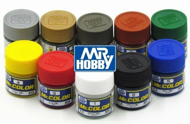 Mr. Hobby Color Flat Base Rough Lacquer C1~C609 (10ml) Model Kit Paint Gunze GSI