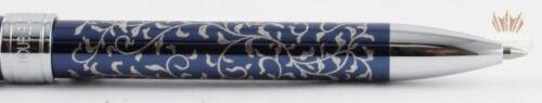 MULTI FUNCTION PEN SPLENDID!! BLUE PLATINUM DOUBLE 3 ACTION MAKI-E KARAKUSA AI