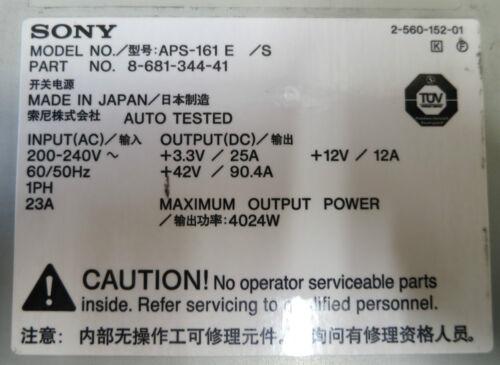 Cisco 6500 Power Supply 34-1768-04 Output 4024W APS-161E Sony 8-681-344-41 PSU