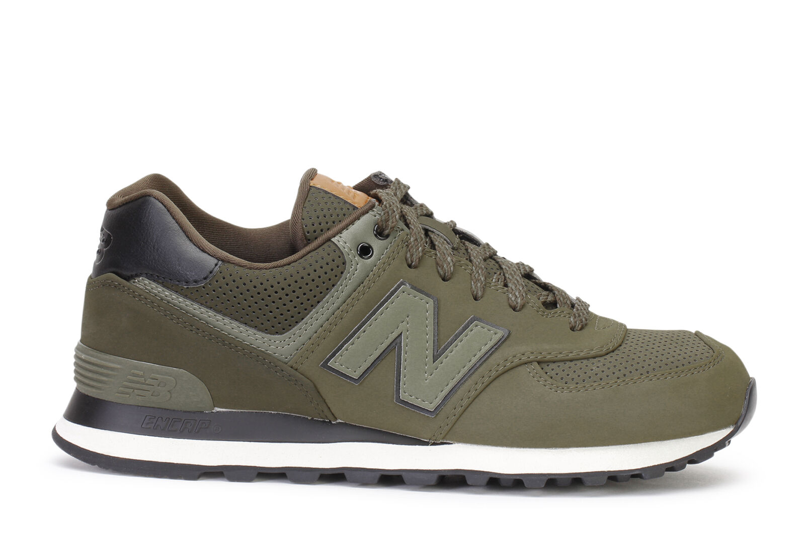 New Balance Men's Sneakers 574 Triumph Green Military ML574GPD