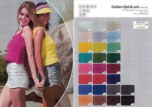 Gruendl-Cotton-Quick-Baumwolle-uni-50g-mercerisiert-gasiert-gekaemmt-viele-Farben