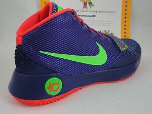 timeless design 4034b f0060 Image is loading Nike-KD-Trey-5-III-Court-Purple-Green-